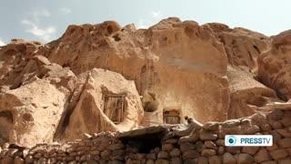 گزارش press tv  از روستای باستانی و صخره ای کندوان آذربایجان شرقی  Kandovan Village