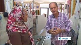گزارش press tv  از پایتخت فرش و قالی  جهان شهر تبریز Tabriz Carpets