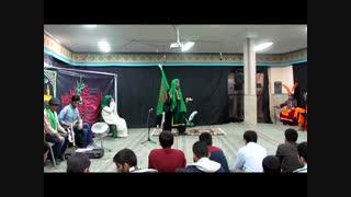 اجرای تعزیه توسط دانش آموزان دبیرستان علامه حلی 10 پاسداران به مناسبت ایام فاطمیه-بخش اول