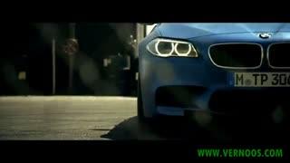 BMW M5 فرار از دست پلیس