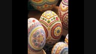 تخم مرغ های جالب برای هفت سین (عکس)
