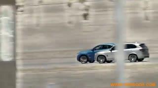 مسابقه BMW X5  و BMW X6  هر دو مدل 2016  در بیابان های تگزاس
