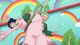 لحظه ی رمانتیک : زورو و تاشیگی - وان پیس / One Piece