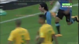 برزیل 2-2 اروگوئه