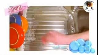 به همین سادگی سینک آشپزخونه تون رو تمیز کنید !