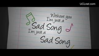 UCLnet.com ... Sad Song - We the Kings