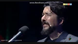 اجرای امیر حسین صدیق در مرحله دوم مسابقه لباهنگ خندوانه ( آهنگ محمد نوری)