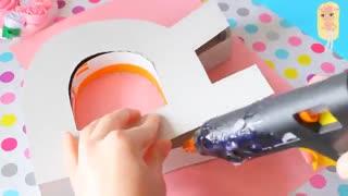 حروف dream برای دکور دیوار اتاق