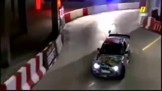 شرکت یک هموطن در مسابقات اتومبیل رانی(چه میکنه)
