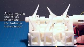 پژوهشگران موفق به ساخت یک ربات کامل با پرینتر سه بعدی شدند