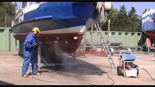 کارواش صنعتی, واترجت فوق فشارقوی آب گرم, شوینده پر فشار