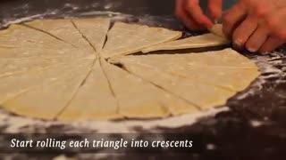 نان شیرینی کروسان