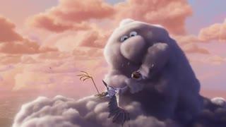 انیمیشن کوتاه Partly Cloudy