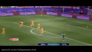 اتلتیکو مادرید بارسا را پودر کرد(خلاصه بازی)