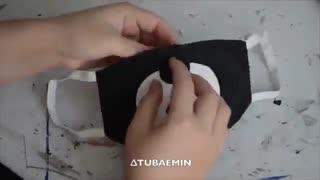 درست کردن ماسک V از bts و Chanyeol  از exo
