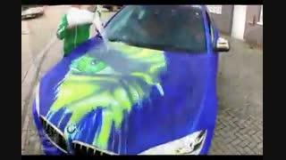 تغییر رنگ ماشین با دما