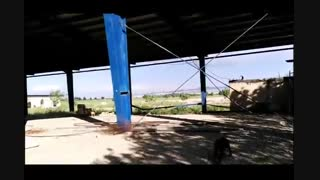 زمین 60 هکتاری با 4000 متر سوله نزدیک اتوبان تهران - قم