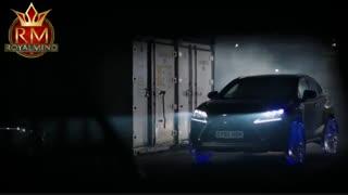 تکنولوژی - خودرو لکسوس با چرخ یخی