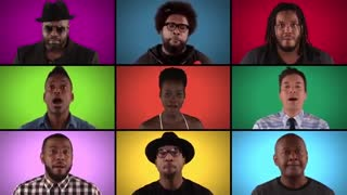 "Jimmy Fallon, The Roots & ""Star Wars: The Force Awakens"" Cast Sing ""Star Wars"" Medley (A Cappella) du2.ir"