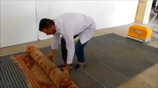 خاک گیر دستی فرش و قالی, تجهیزات قالیشویی مدرن, دستگاه خاک گیر قالی و فرش