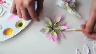 جاشمعی گل با خمیر پلیمر 2 - قشنگ