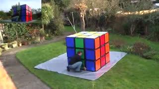 رکورد بزرگترین مکعب روبیک