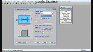 طراحی بیس پلیت یا صفحه ستون به دو روش حدی و تنش مجاز