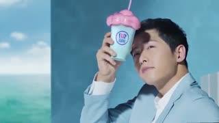 تبلیغ جدید سونگ جونگ کی برای بستنی