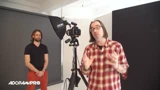 آموزش عکاسی- پرتره مرد