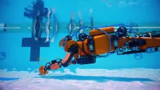 ربات انسان نمای OceanOne برای یافتن گنج در اعماق دریای مدیترانه غواصی خواهد کرد