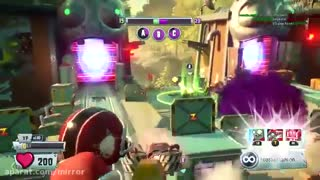 گیم پلی بازی plants vs zombie garden warfere 2