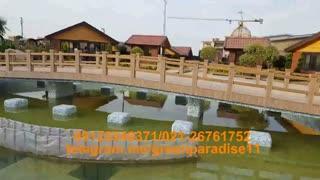 ساخت پل چوبی