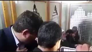 داخل حرم حضرت زینب س
