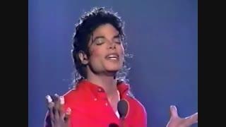 اجرای بسیار زیبا ترانه You were there توسط مایکل جکسون