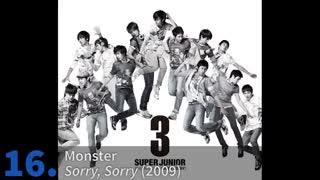 TOP 30    Non-Title Super Junior Songs