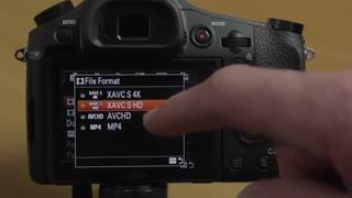 راه اندازی برای تصویر برداری با دوربین Sony RX10 M2