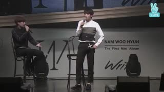 "NAM WOO HYUN - ""WRITE.."" SHOWCASE"