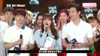 برد تیفانی در SBS the showدیروز با آهنگ i just wanna dance!! + یکم اجرااا