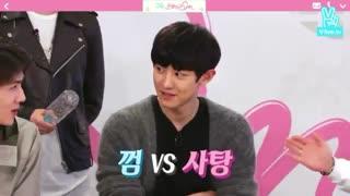 (Exo. Sehun &chanyeol. We matched show(chanse
