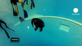 مسابقه حبس نفس زیر آب