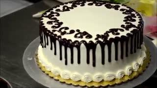 تزیین کیک در 2 دقیقه