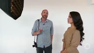 آموزش عکاسی - آموزش پرتره با نورپردازی ساده