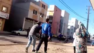 قمه کشی اراذل و اوباش در زنجان