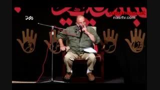 سخنرانی حاج سعید قاسمی در تجمع بزرگ مدافعان حرم