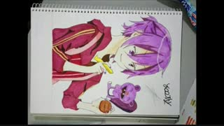 my drawings from some anime