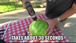 روش جالب سرو هندوانه