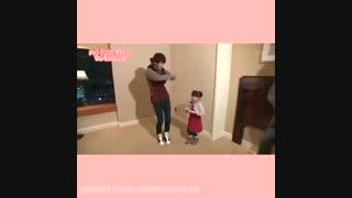 رقص سوکی با دختر بچه