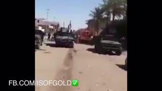 خودروهای واحد ضدتروریست ارتش عراق