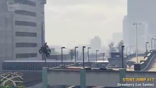 مکان 50 Stunt Jump در بازی GTA V