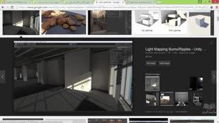 اموزش ساخت لایت مپ light map در یونیتی   جلسه ۱